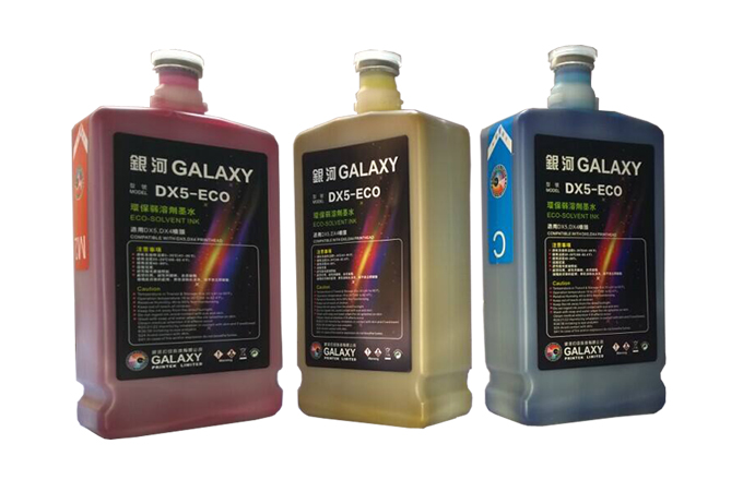Galaxy DX5 eco solvent ink