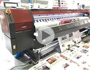 Funsunjet FS-3202M, 3.2m eco solvent printer with two Epson DX5 head