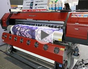 Funsunjet FS-1802S, 1.8m sublimation printer with Epson 5113 head