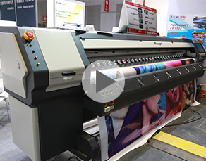 Funsunjet FS-3208K, 3.2m printer with Konica 512i heads, 240sqm/H