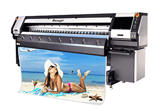3.2m Large Format Outdoor Printer