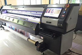 Sample machines in our showroom