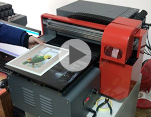 Funsunjet  A3 UV Flatbed Printer with Epson DX8 Head