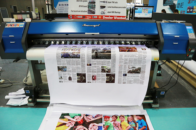 FunsunJet FS-1802 1.8m Eco solvent printer with Epson DX5 Head