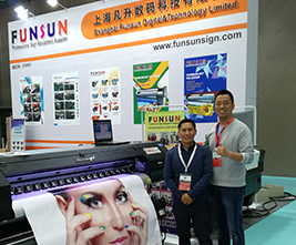 Customer in the Exhibition