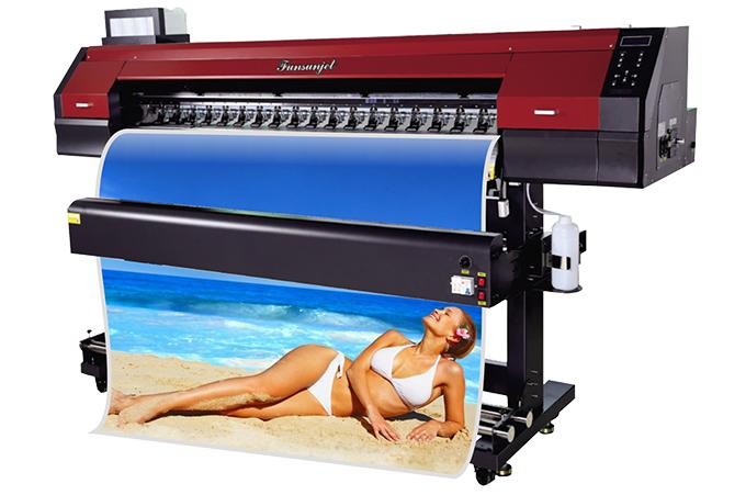 Funsunjet FS-1700M Eco solvent printer