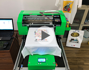 Funsun A3 T-Shirt Printer With Epson R1390 Head